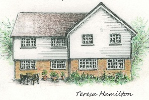 Kitley Lodge Pencil From London to Lewes 1